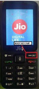Jio F61F Boot Key