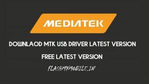MTK USB Driver Auto Installer